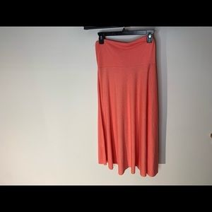 Elan Women Red Casual Skirt M (g6)